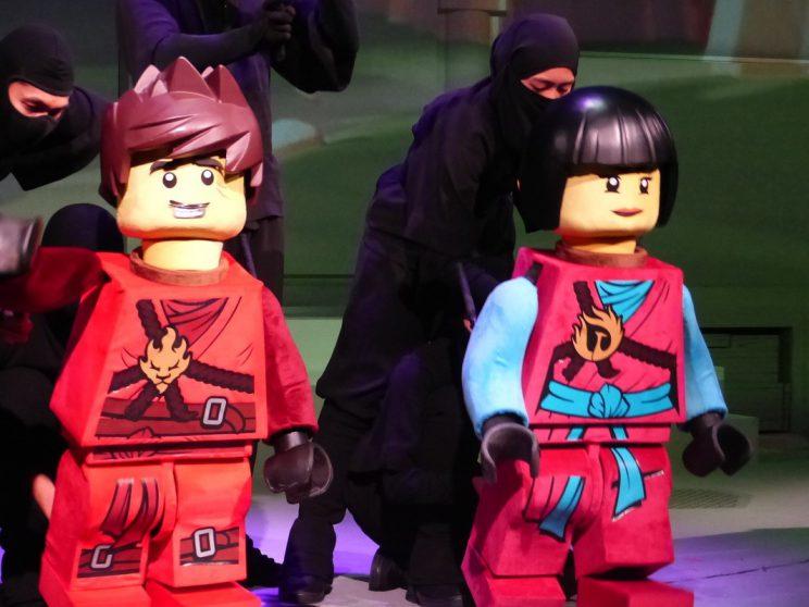 Ninjago puppets Legoland Malaysia