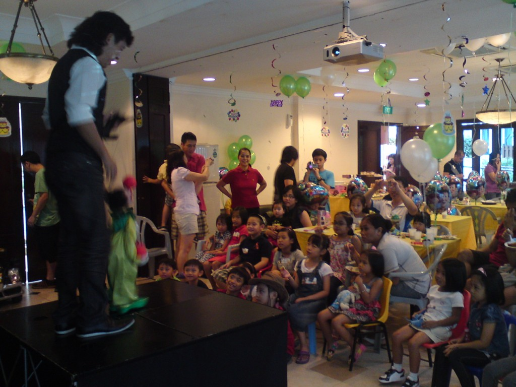 birthday show for gabriel