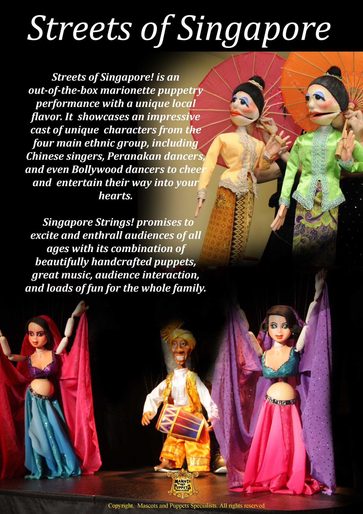 puppet show for children adults