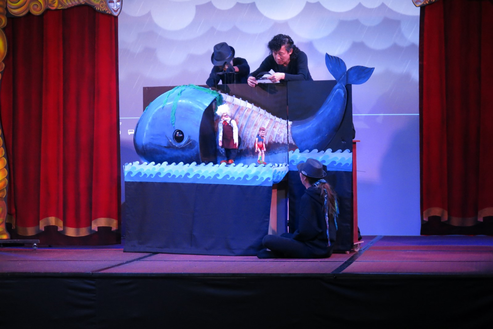 Pinocchio puppet show
