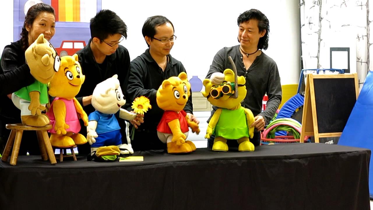 Kindness puppet show