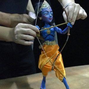 ramayana rod puppet